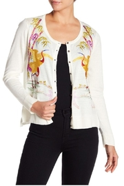 Aratta Marvelous Embroidered Cardigan - Front cropped