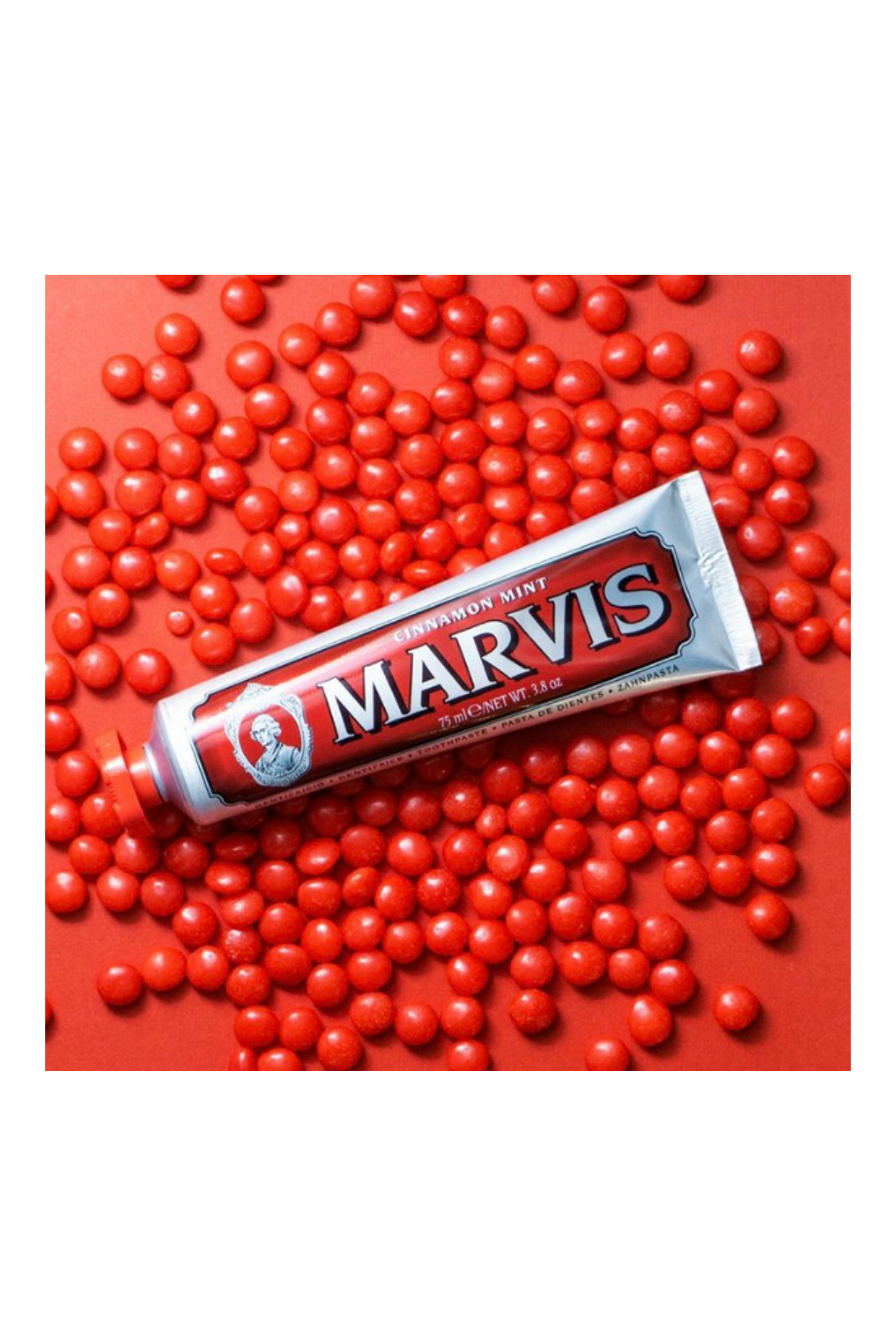 Marvis Cinnamon Toothpaste - Front Full Image