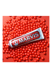Marvis Cinnamon Toothpaste - Front full body