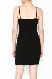 Marvy Fashion Black Cocktail Dress - Back cropped
