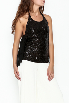 Marvy Fashion Sequined Halter Top - Product List Image