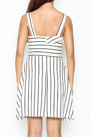 Marvy Fashion Striped Dress - Back cropped
