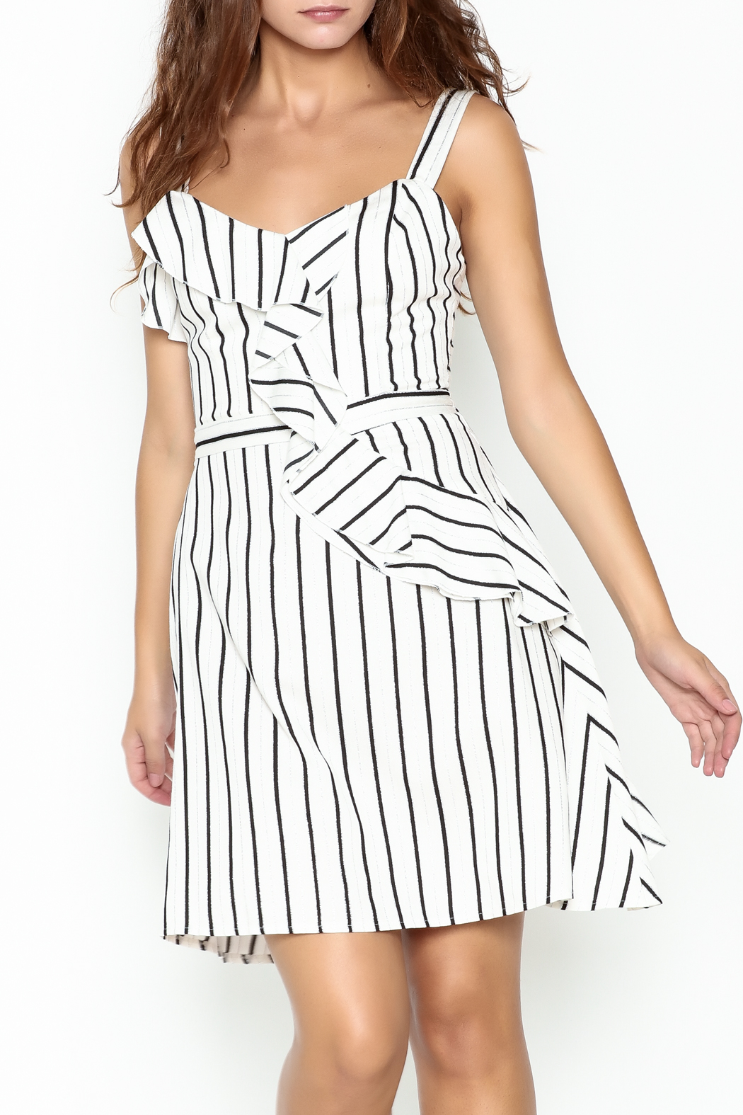 Marvy Fashion Striped Dress - Main Image