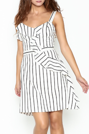 Marvy Fashion Striped Dress - Front cropped