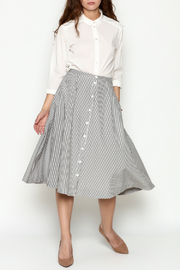 Marvy Fashion Striped Skirt - Side cropped