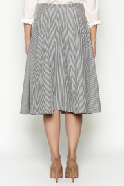 Marvy Fashion Striped Skirt - Back cropped