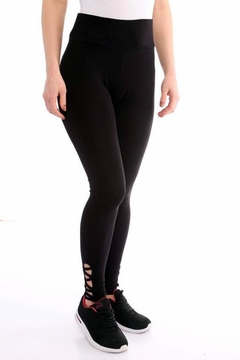 Marvy Fashion Black Leggings - Alternate List Image