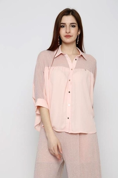 Marvy Fashion Button Up Top - Product List Image