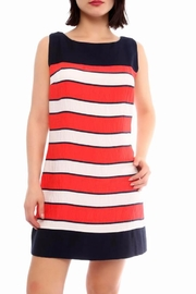 Marvy Fashion Colorblock Mini Dress - Product Mini Image