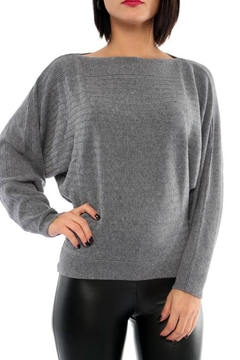 Marvy Fashion Crop Knit Top - Product List Image