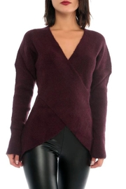 Marvy Fashion Cross Front Sweater - Product Mini Image