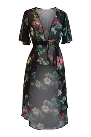 Marvy Fashion Floral Print Cover Up - Product Mini Image