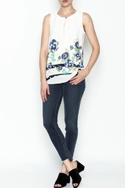 Marvy Fashion Flower Printed Top - Product Mini Image