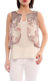 Marvy Fashion Layered Top - Product Mini Image
