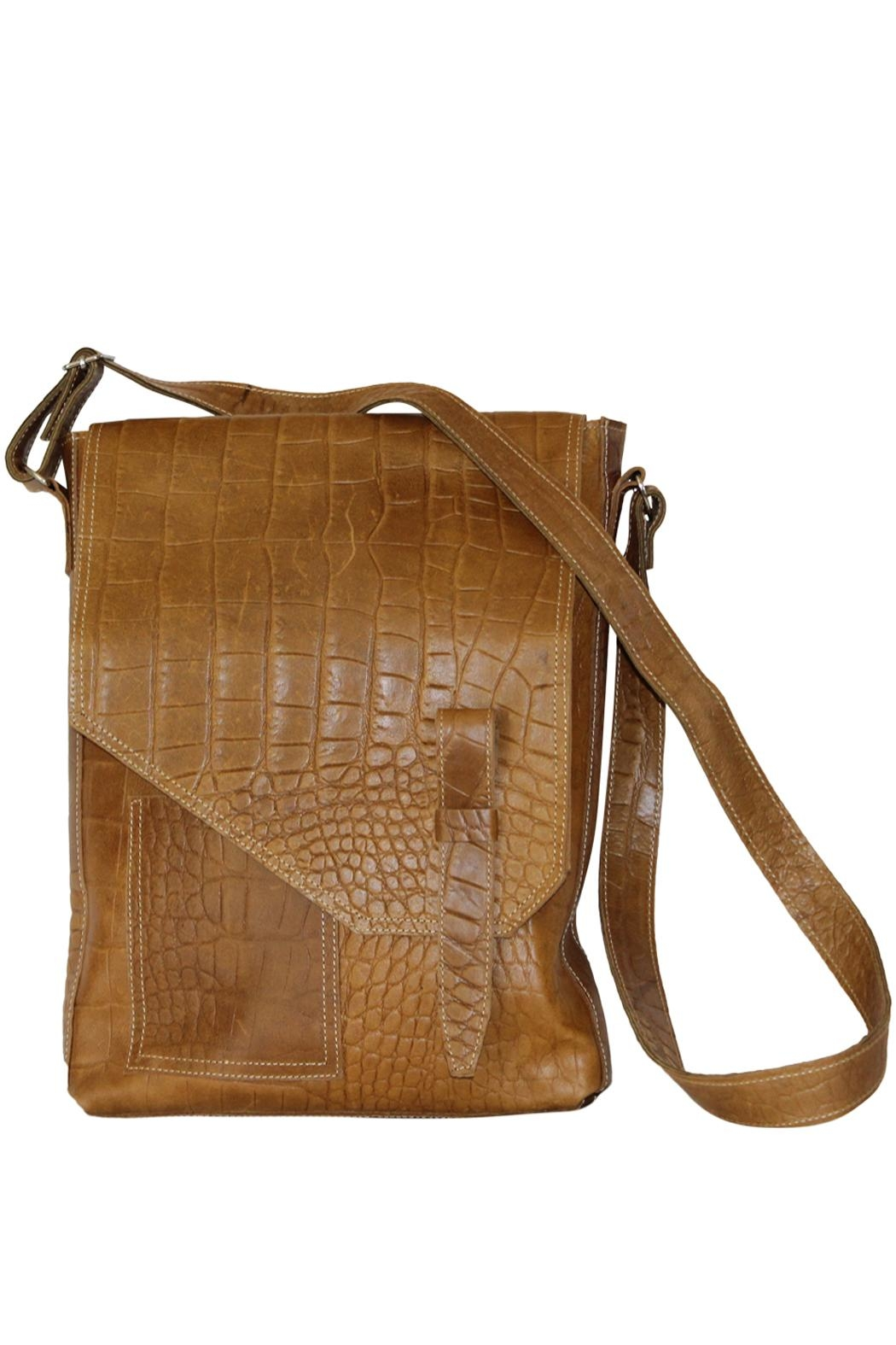 Marvy Fashion Leather Cross-Body Bag - Main Image