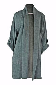 Marvy Fashion Long Open Front Cardigan - Product List Image