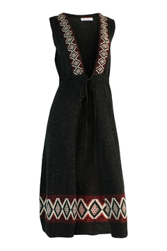 Marvy Fashion Long Vest Duster - Product List Image
