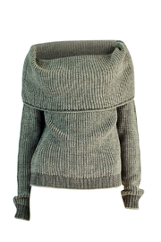Marvy Fashion Off Shoulder Sweater - Product Mini Image
