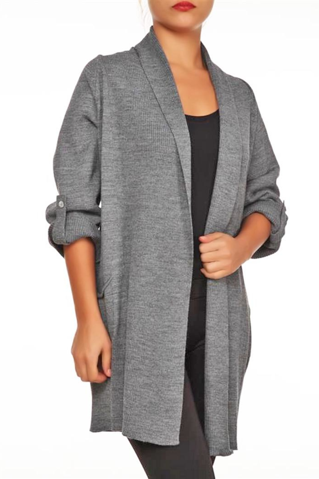 Marvy Fashion Open Front Cardigan - Main Image