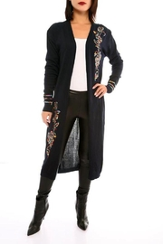Marvy Fashion Open Front Cardigan - Front cropped