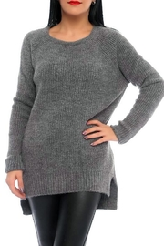 Marvy Fashion Ribbed Pullover - Product Mini Image