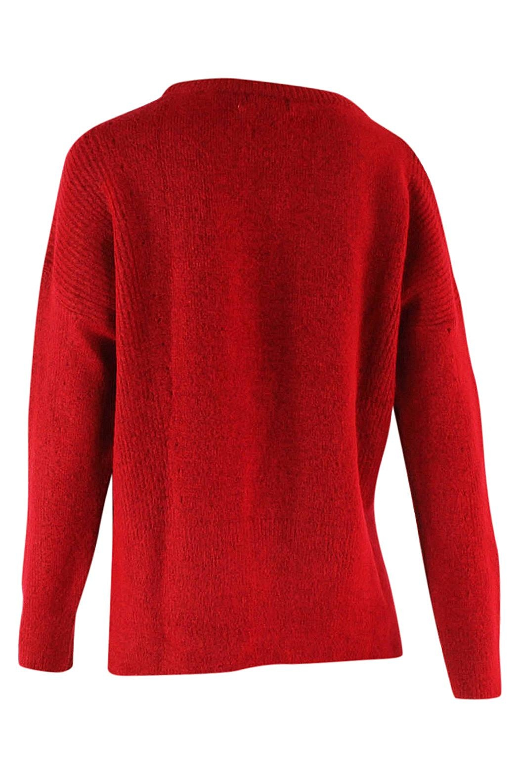 Marvy Fashion Ribbed Pullover - Side Cropped Image