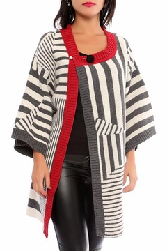 Marvy Fashion Striped Cardigan - Product List Image