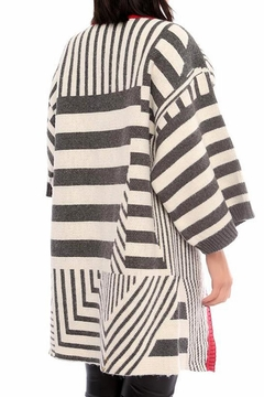 Marvy Fashion Striped Cardigan - Alternate List Image