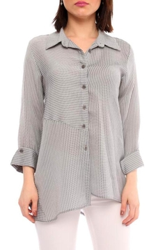 Marvy Fashion Striped Shirt - Alternate List Image