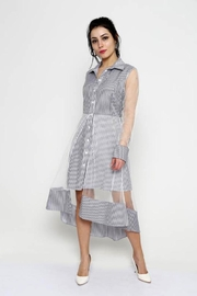 Marvy Fashion Striped Shirt Dress - Product Mini Image
