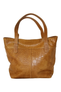 Marvy Fashion Two-Tone Leather Hobo - Alternate List Image