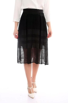 Marvy Fashion Boutique  Black A Line Skirt - Product List Image