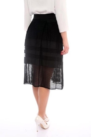 Marvy Fashion Boutique  Black A Line Skirt - Front full body