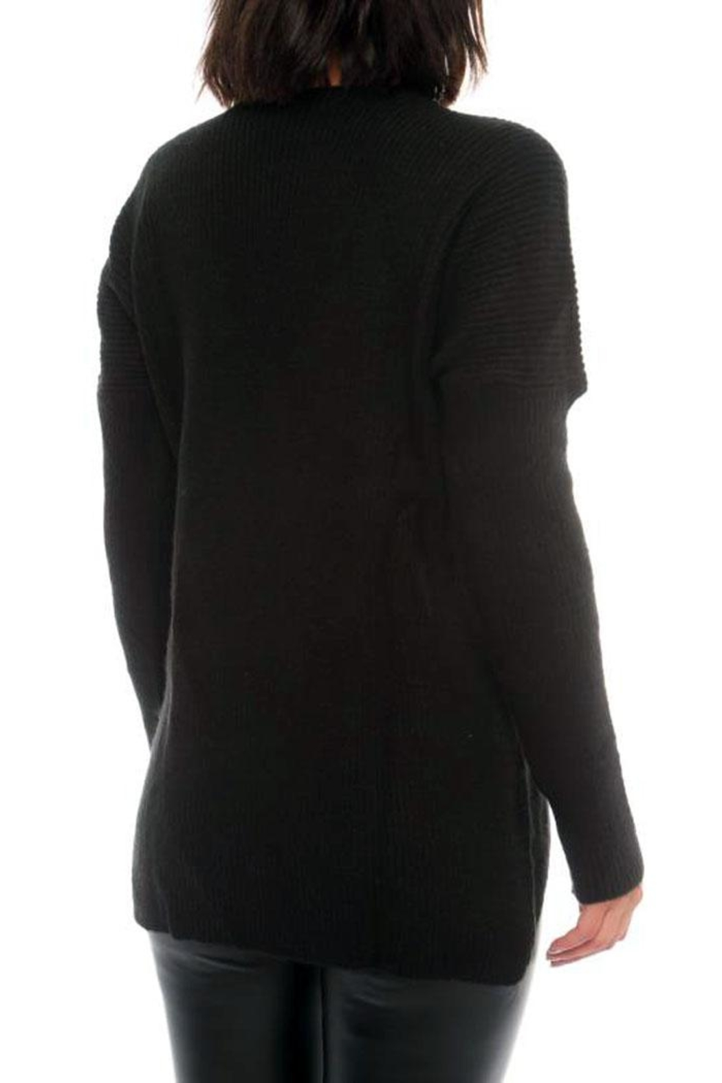Marvy Fashion Boutique  Cross Front Sweater - Front Full Image