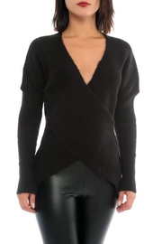 Marvy Fashion Boutique  Cross Front Sweater - Front cropped