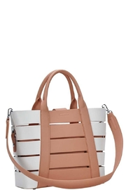 Marvy Fashion Boutique  Cut-Out Bucket  Bag - Front full body