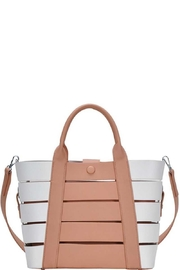 Marvy Fashion Boutique  Cut-Out Bucket  Bag - Front cropped