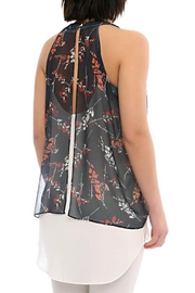 Marvy Fashion Boutique  Floral Print Layered Top - Front full body