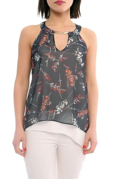 Shoptiques Product: Floral Print Layered Top