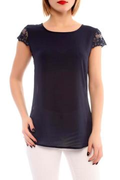 Shoptiques Product: Lace Inserted Top