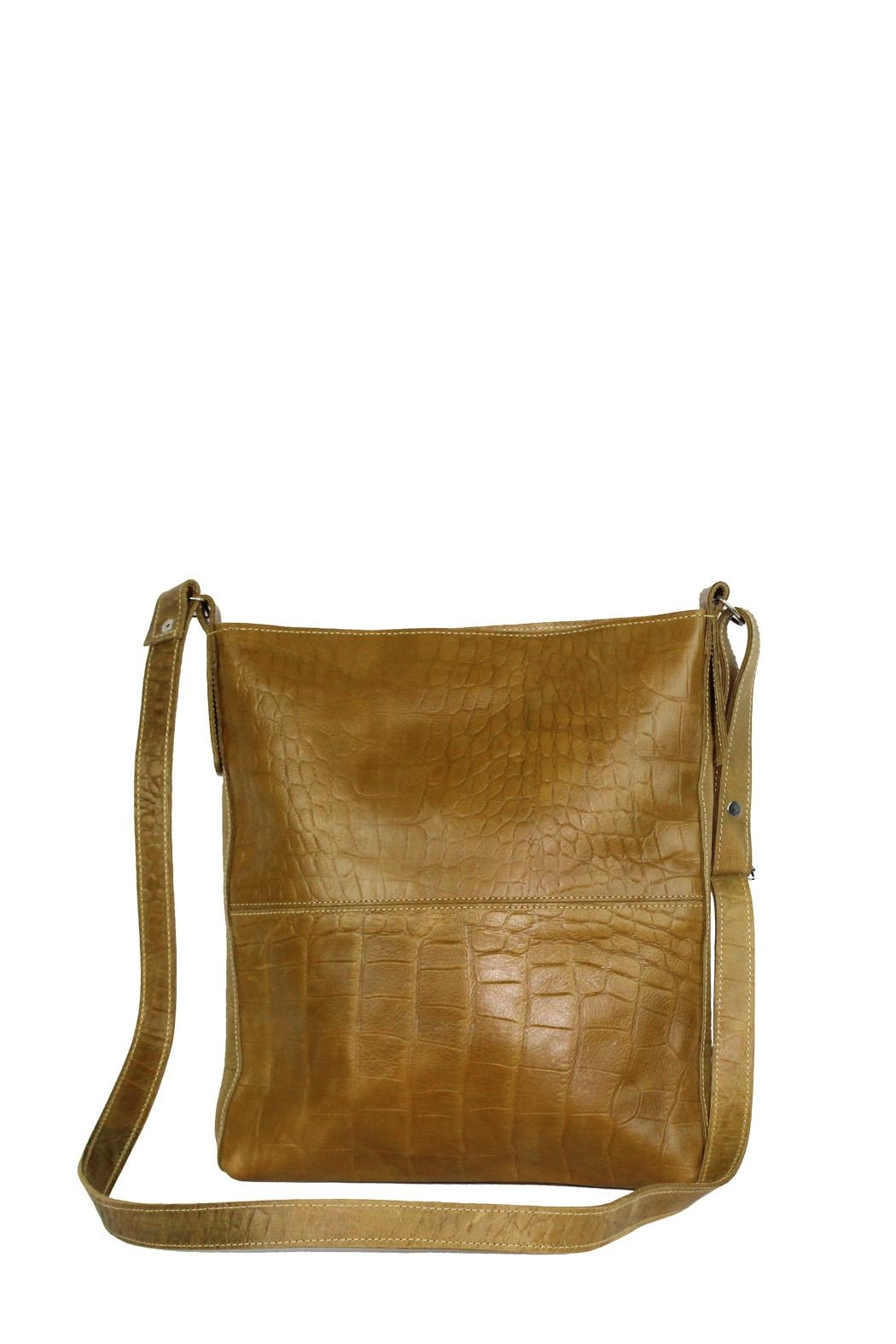 Marvy Fashion Boutique  Leather Cross-Body Bag - Main Image