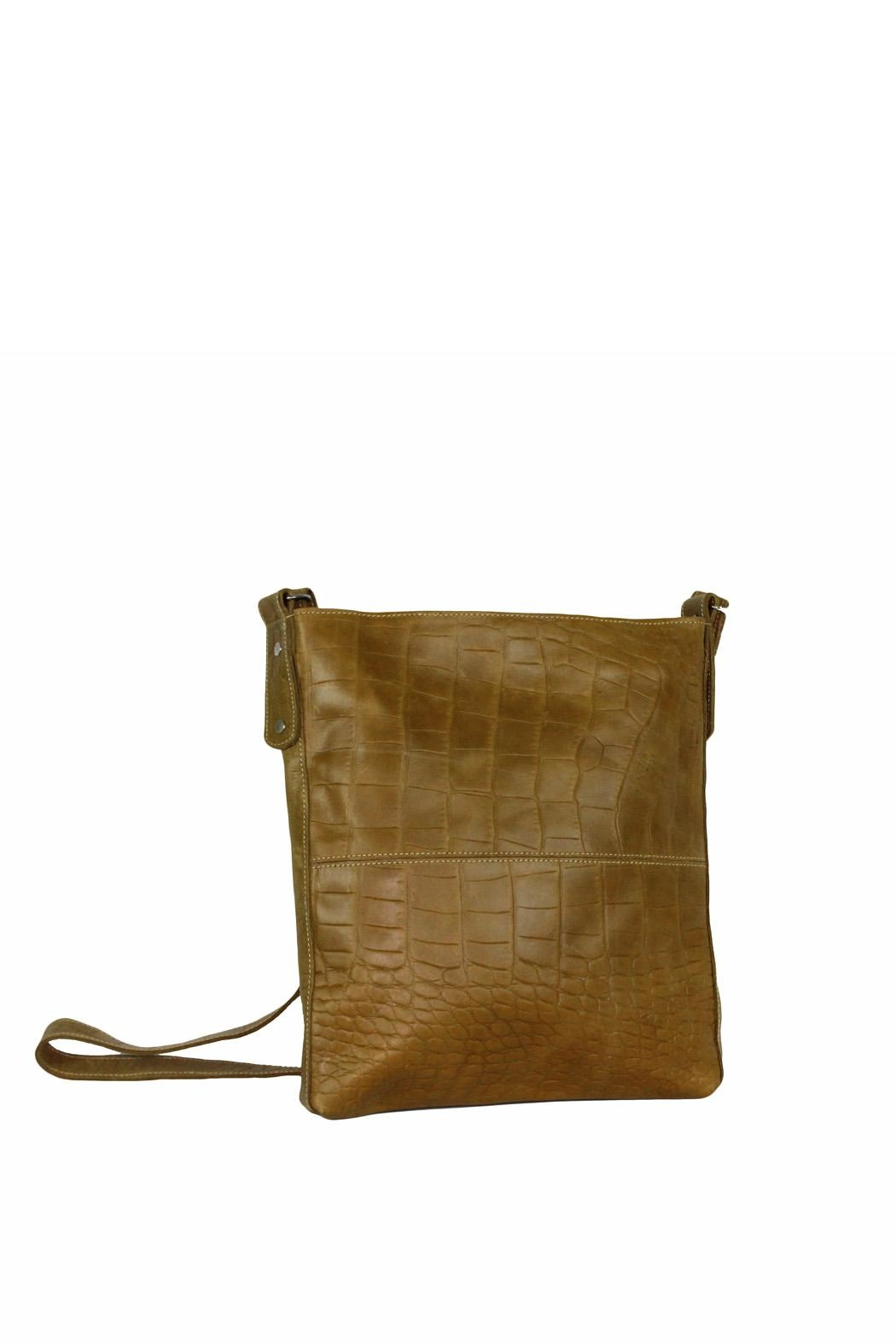 Marvy Fashion Boutique  Leather Cross-Body Bag - Front Full Image