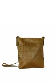 Marvy Fashion Boutique  Leather Cross-Body Bag - Front full body