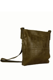Marvy Fashion Boutique  Leather Cross-Body Bag - Front cropped