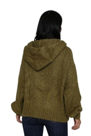 Marvy Fashion Boutique  Olive Hoodie Sweater - Other