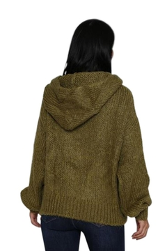 Marvy Fashion Boutique  Olive Hoodie Sweater - Alternate List Image