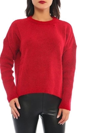 Marvy Fashion Boutique  Ribbed Pullover - Product Mini Image