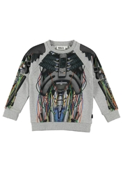 Molo Marx Cyborg Sweater - Front cropped