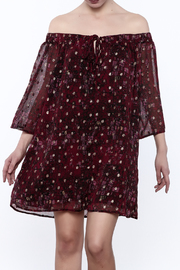 Mary & Mabel Wine Time Dress - Product Mini Image