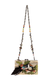 Mary Frances Toucan Hand Beaded Bag - Product Mini Image